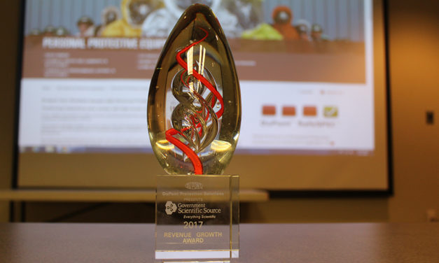 DuPont Presents Revenue Growth Award to GSS