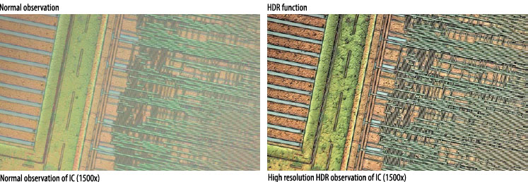 Improving image resolution: High-resolution HDR