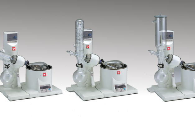 ROTARY EVAPORATOR + WATER CIRCULATOR + SOLVENT COLLECTING UNIT + VACUUM PUMP